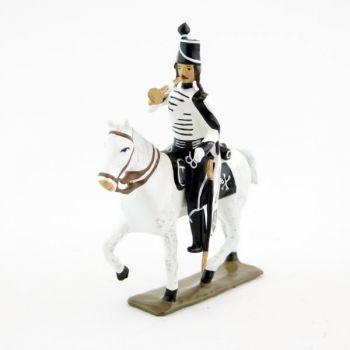 trompette des hussards volontaires de la mort à cheval (1793)