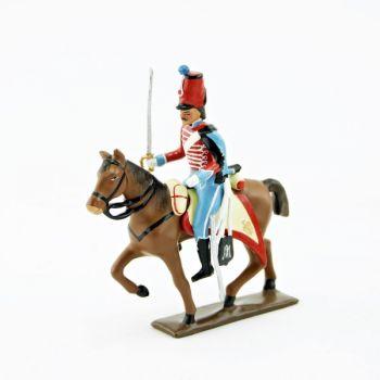 cavalier du 12e Hussards (1812)