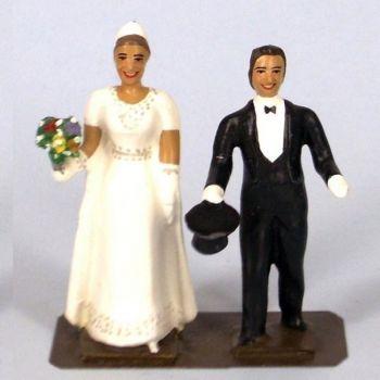 ensemble les mariés (début XXe siècle)