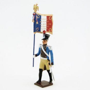 porte-drapeau du régiment du Train