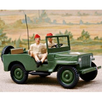 Jeep des G.I's (  2 pers.)