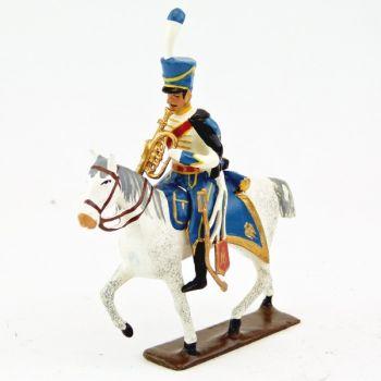 trompette de la musique du 5e rgt de hussards