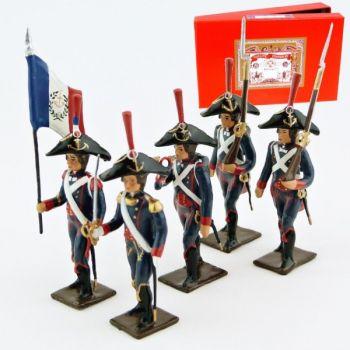 Pontonniers du Rhin (1792), coffret de 5 figurines