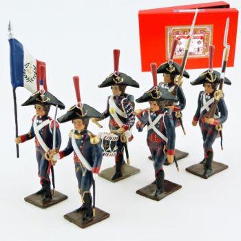 Pontonniers du Rhin (1792), coffret de 6 figurines