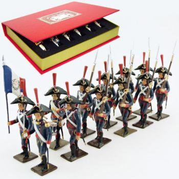 Pontonniers du Rhin (1792), coffret de 12 figurines