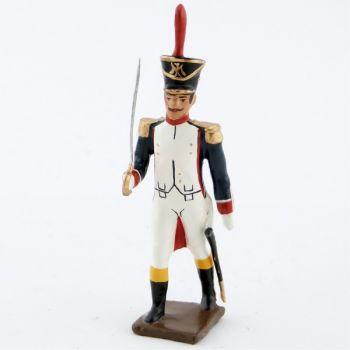officier des fusiliers saint cyr (1812)
