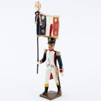 drapeau des fusiliers saint cyr (1812)