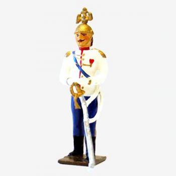 Kaiser Guillaume II (1859-1941), roi de Prusse et empereur d'Allemagne