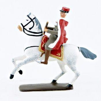 Maréchal Lyautey à cheval