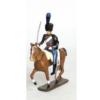 cavalier de la compagnie d'elite du 2e hussards (1808)
