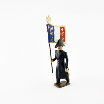 drapeau des grenadiers de la garde en tenue de route ((1804-1812))