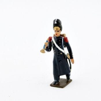 clairon des grenadiers de la garde en tenue de route 1804 1812. Black Bedroom Furniture Sets. Home Design Ideas