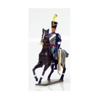 officier du 1er régiment de hussards (1808)