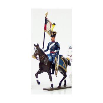 etendard du 1er régiment de hussards (1808)