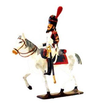 sapeur des grenadiers à cheval avec hache