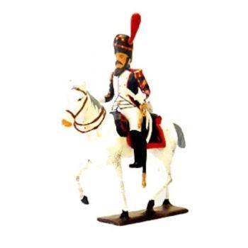 sapeur des grenadiers à cheval avec scie