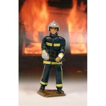 Pompier en tenue de Feu