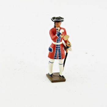 trompette des grenadiers de la garde suisse louis xiv (1670)
