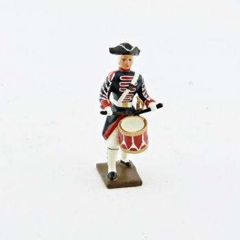 tambour des grenadiers de la garde française -  louis xv (1740)