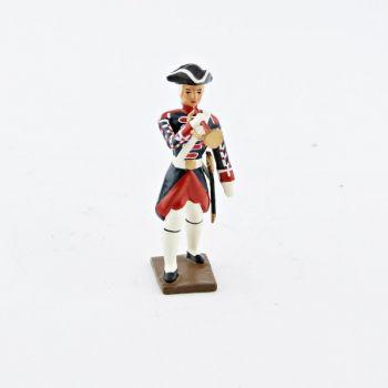 trompette des grenadiers de la garde française -  louis xv (1740)