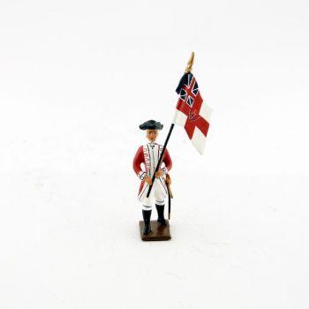drapeau des grenadiers anglais 33e rgt