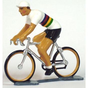 Maillot à bandes multicolores - Champion du monde