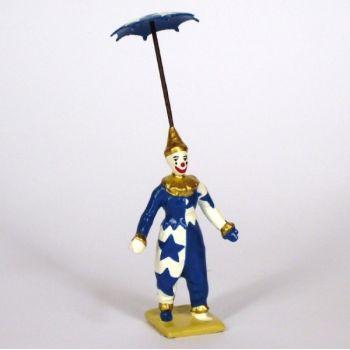 clown avec parapluie