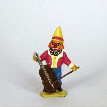 clown nain avec violoncelle