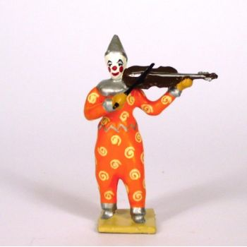 clown avec violon
