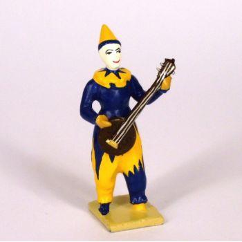 clown avec banjo