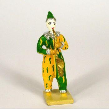 clown avec saxophone