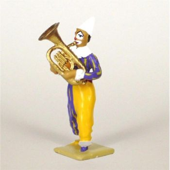 clown avec petit tuba