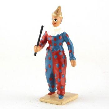 chef des clowns musiciens avec baguette