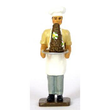 le Pâtissier avec pièce montée