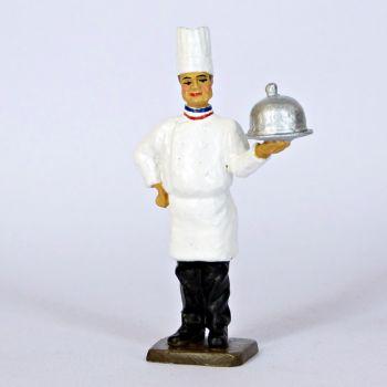 le Cuisinier avec cloche