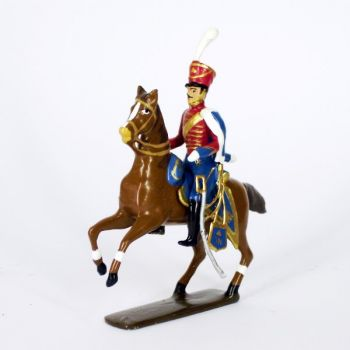 officier du 13e régiment de hussards (1808)