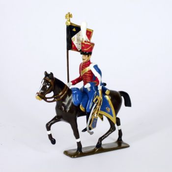 etendard du 13e régiment de hussards (1808)