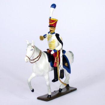 trompette (d'ordonnance) du 13e régiment de hussards (1808)