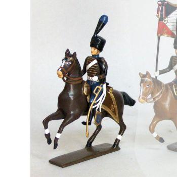 officier de la compagnie d'elite du 2e hussards (1808)
