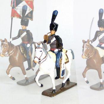 trompette (d'ordonnance) de la compagnie d'elite du 2e hussards (1808)