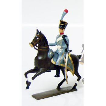 officier du 3e régiment de hussards (1808)