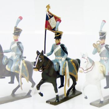 etendard du 3e régiment de hussards (1808)