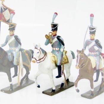 trompette (d'ordonnance) du 3e régiment de hussards (1808)