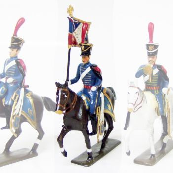 etendard du 4e régiment de hussards (1808)