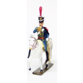 trompette (d'ordonnance) du 4e régiment de hussards (1808)