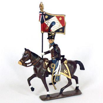 etendard du 2e régiment de hussards (1808)