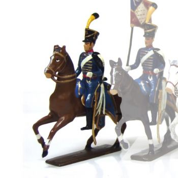 officier du 5e régiment de hussards (1808)