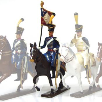 etendard du 5e régiment de hussards (1808)