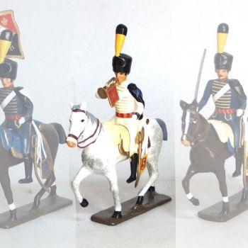 trompette (d'ordonnance) de la compagnie d'elite du 5e hussards (1808)