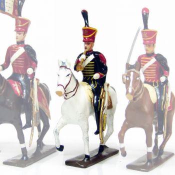 trompette (d'ordonnance) du 6e régiment de hussards (1808)